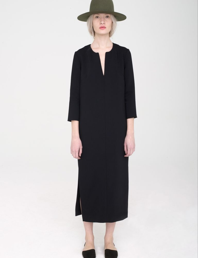 apiece apart black valeria dress mnz totokaelo 4 black a.p.c la garconne #APIECEAPART