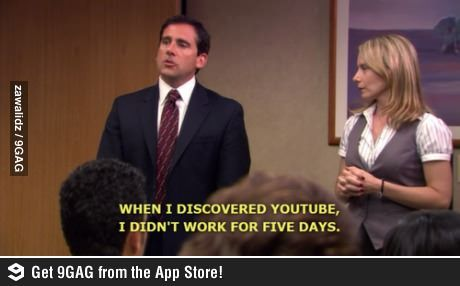 When I Discovered Youtube I Didn T Work For Five Days Michael