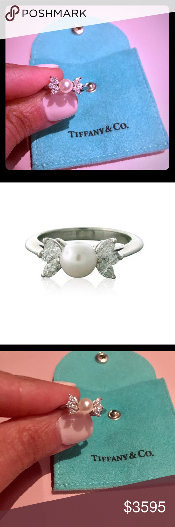 51b9abe1c SOLD ON TRADESY Tiffany & Co Diamond Victoria Ring | My Posh Picks ...