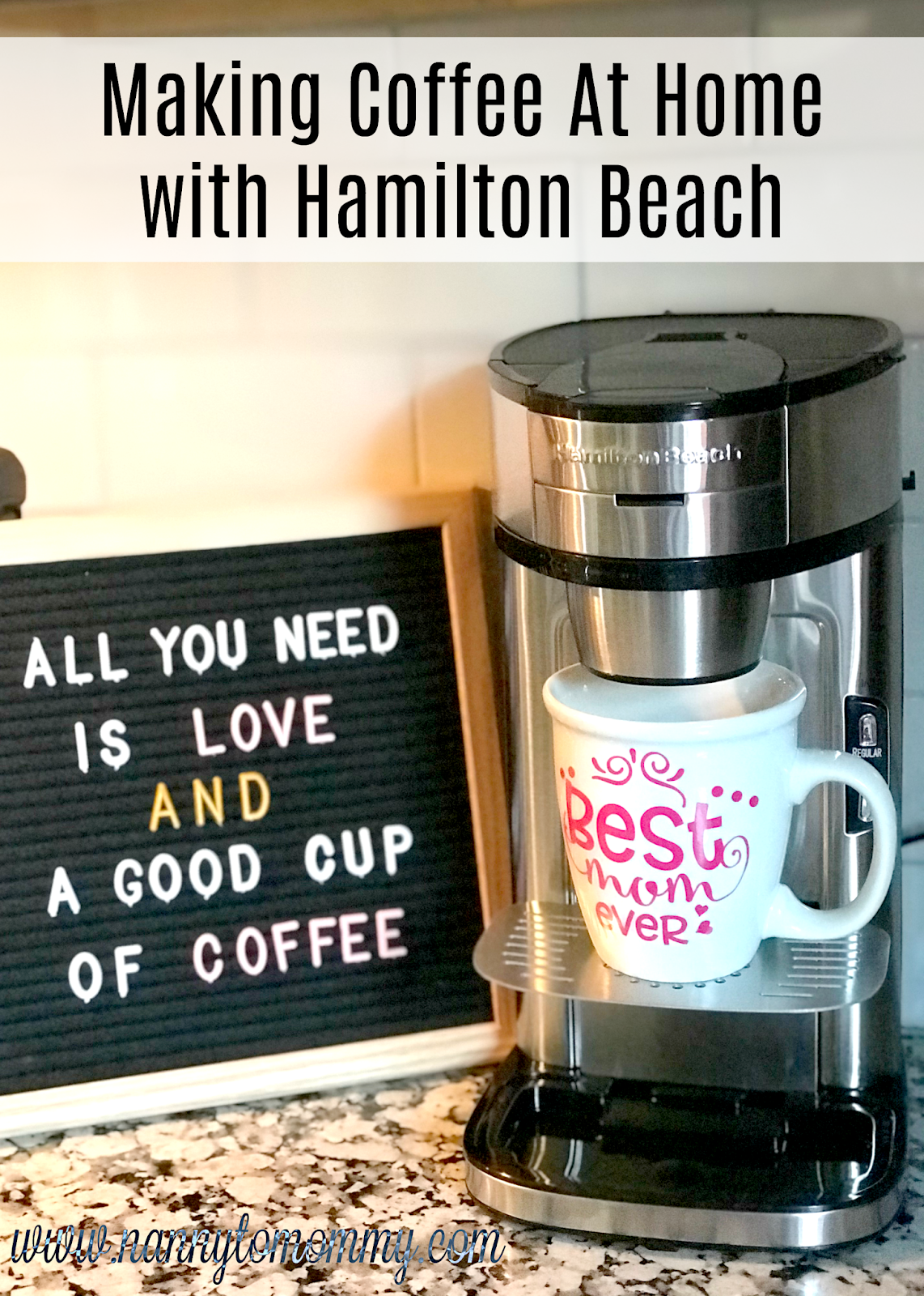 Making Coffee At Home With Hamilton Beach Giveaway How To Make Coffee Hamilton Beach Hamilton Beach Coffee Maker