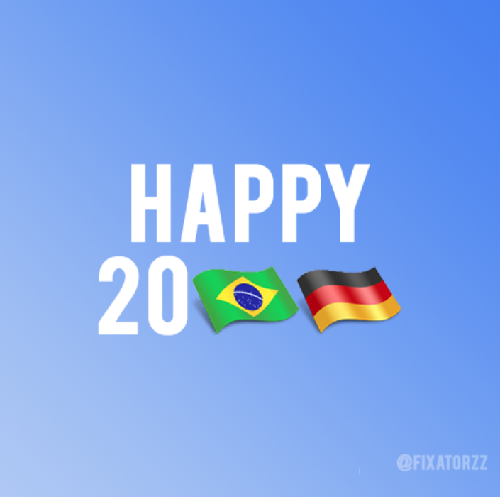 Happy New Year. From Germany To Brazil, With Love.
