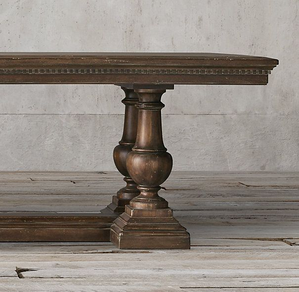 St. James Rectangular Extension Dining Table. Our Table. Extension Dining TableRestoration  HardwareDining ...