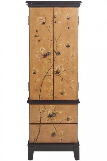 Lotus Jewelry Armoire Jewelry Cabinet Jewelry Armoires