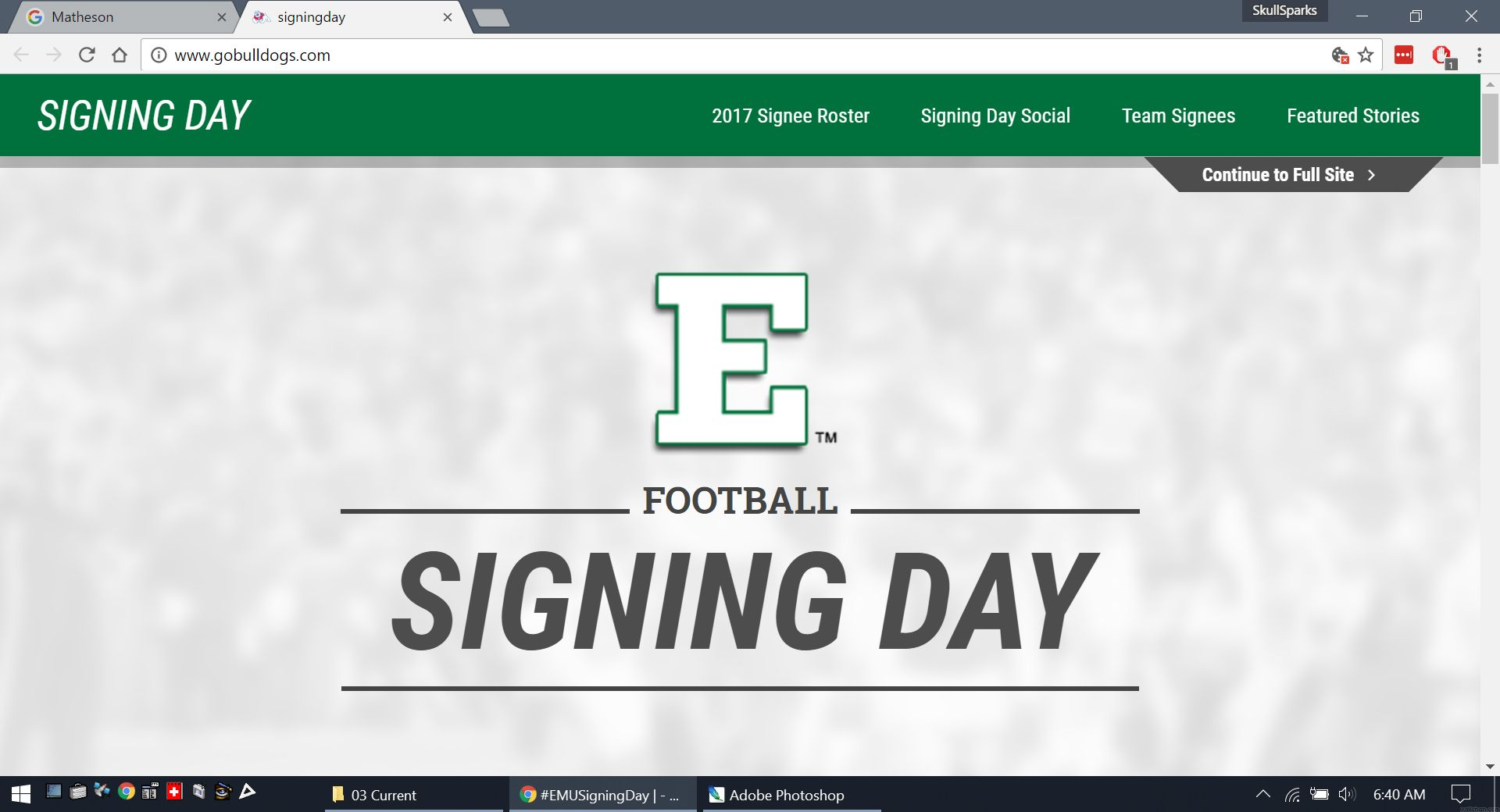 Eastern Michigan (With images) National signing day