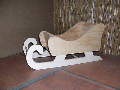 holzschlitten dekoration weihnachten advent schlitten aus holz geschenk wood. Black Bedroom Furniture Sets. Home Design Ideas
