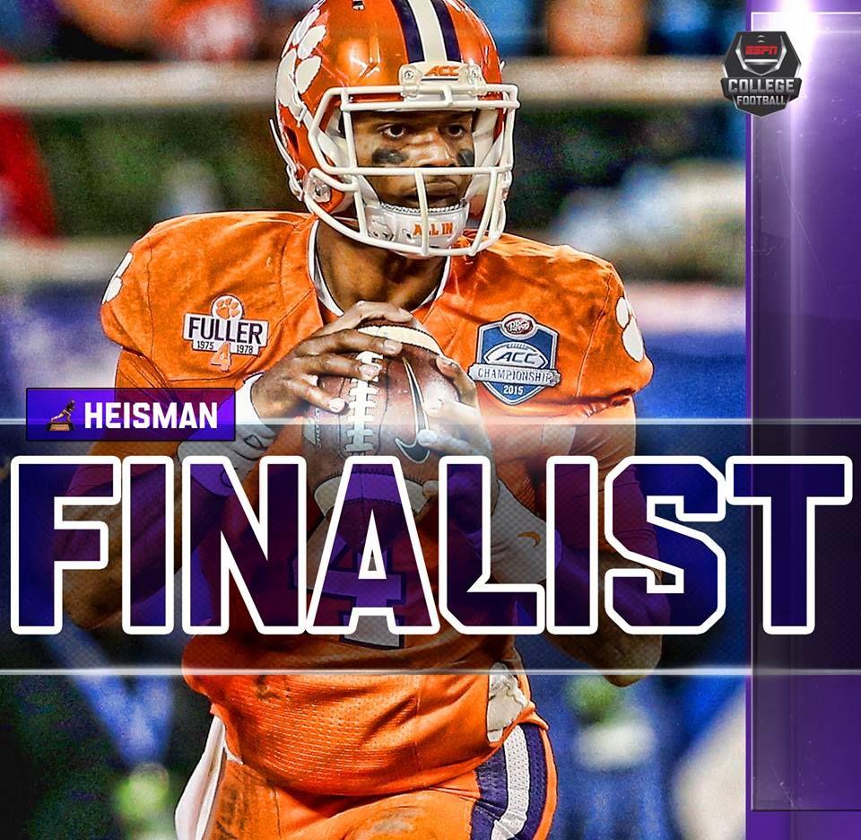 Heisman 2015 season (With images) Espn college football