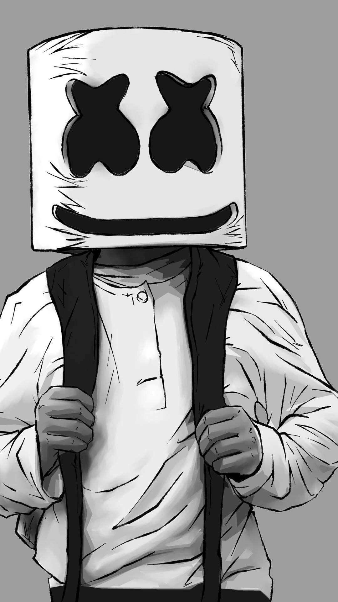 Marshmallo Fond D Ecran Dessin Dessin De Musique Fond D Ecran Jeux