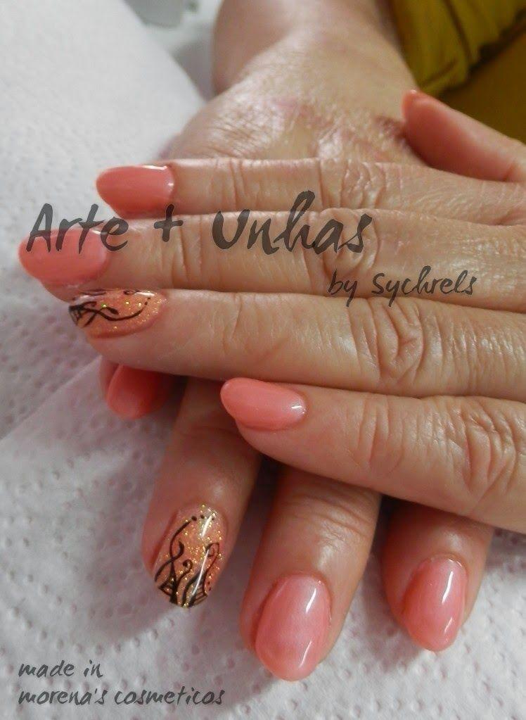 #unhas #nails #artnail #unhas decoradas #gel - Morena's Cosméticos: Abstrato