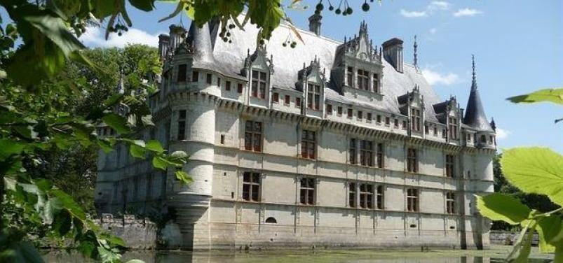Visite Château Azay-le-Rideau : tourisme & histoire de France, Loire ...