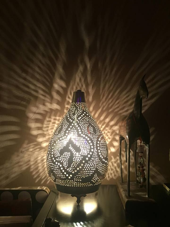 Egyptian Lamps, Moroccan Lamps, Arabic Style Lamps Small Table Top #Amoura  #Moroccan