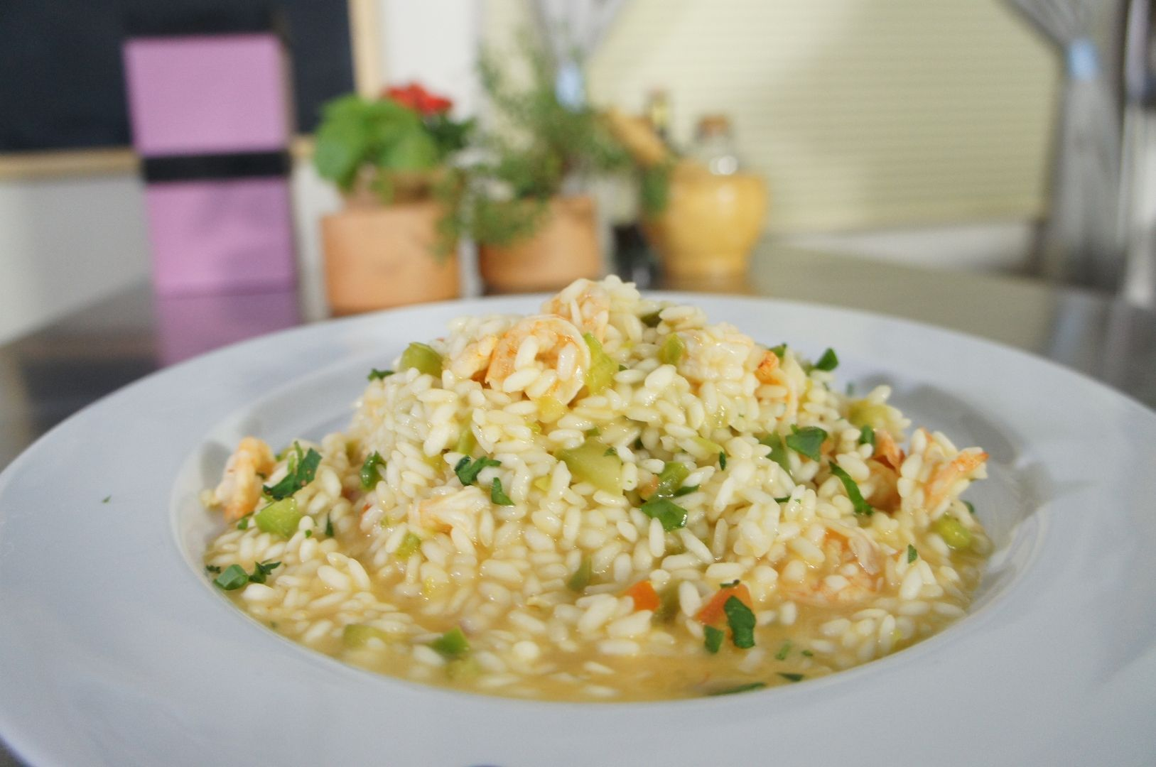 Photo of Shrimp risotto-Shrimp risotto Learn How To Prepare Shrim …
