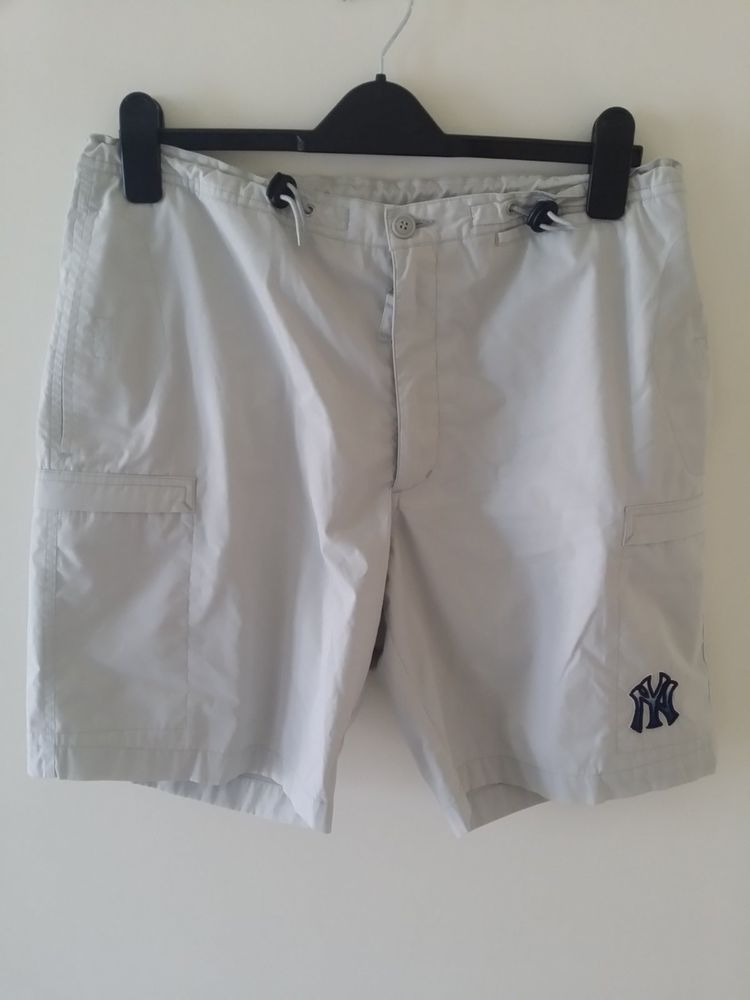 Mens shorts FDNY ivory colour Large Size by Sport Adjustable waist ...