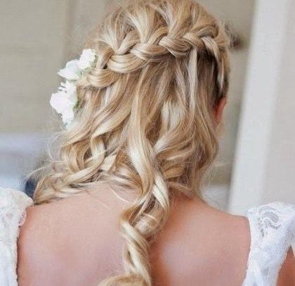 Coiffure Pour Un Mariage Invite Cheveux Mi Long Mariage Wedding