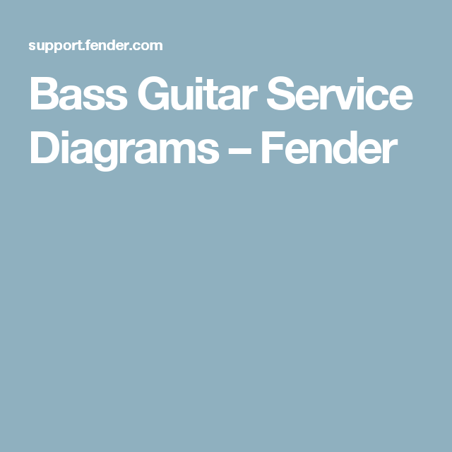 Amazing Fender Guitar Wiring Diagrams Photo - Wiring Ideas For New ...