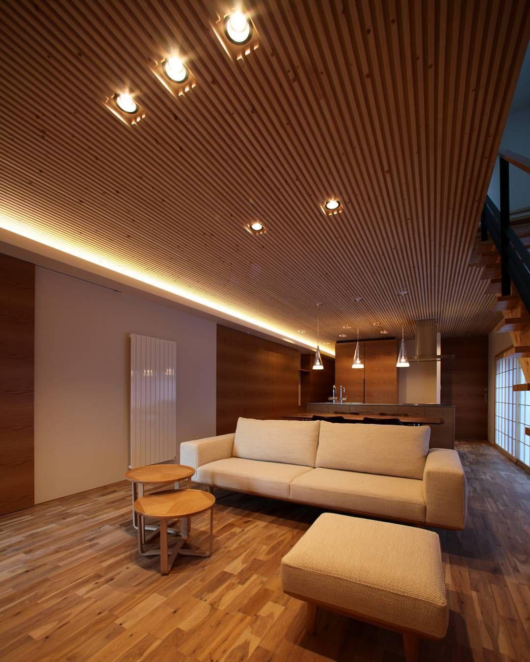 いいね 27件 コメント2件 K Atelier ケイアトリエ Kアトリエさん Katelier326 のinstagramアカウント 束古の 家 そこのいえ 天井の木ルーバーと間接照明によって和風でありながらも 同時に上品さをもたせるこちができました 家 住宅 建築 内装 和 家