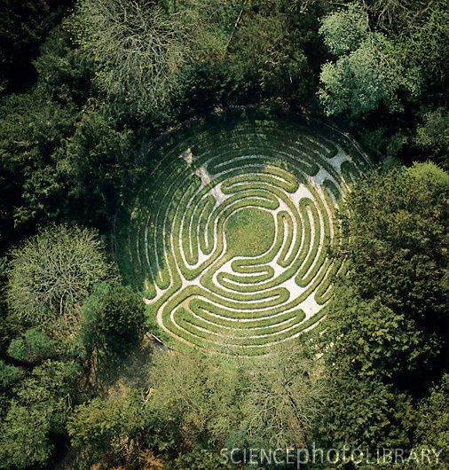 Birds Eye View Of Labyrinth | Irrgarten | Pinterest | Labyrinth ... Tipps Labyrinth Irrgarten Anlegen Kann