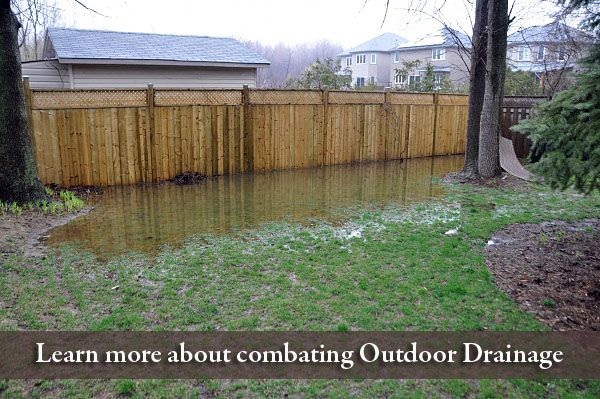 French Drain How To Build It The Right Way Kg Landscape Management Backyard Drainage Drainage Solutions Yard Drainage