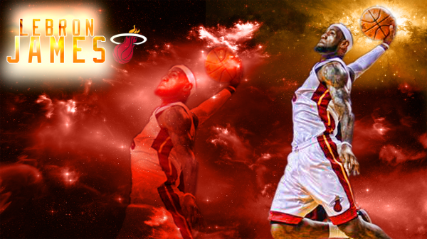 Lebron James Miami Heat Wallpaper Hd Lebron James Miami Heat Lebron James Wallpapers