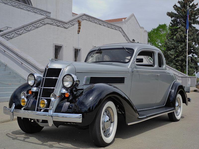 Chrysler Automobile Fine Photo Oldtimers Vervoer Auto