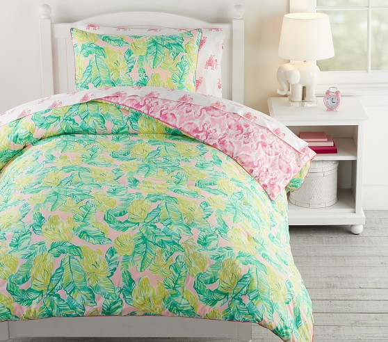 Lilly Pulitzer Reversible Local Flavor Comforter Pottery
