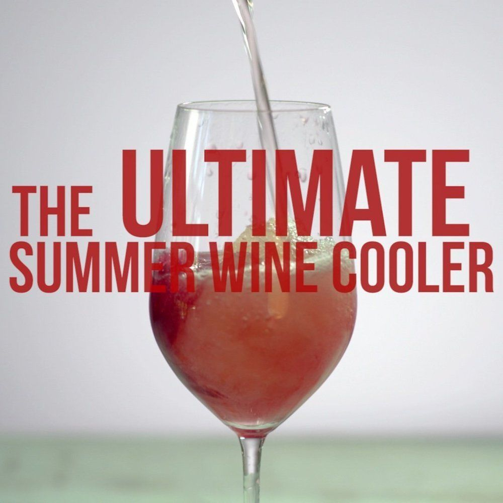 The Ultimate Summer Wine Cooler Video Wine Cooler Summer Wines Best Wine To Drink