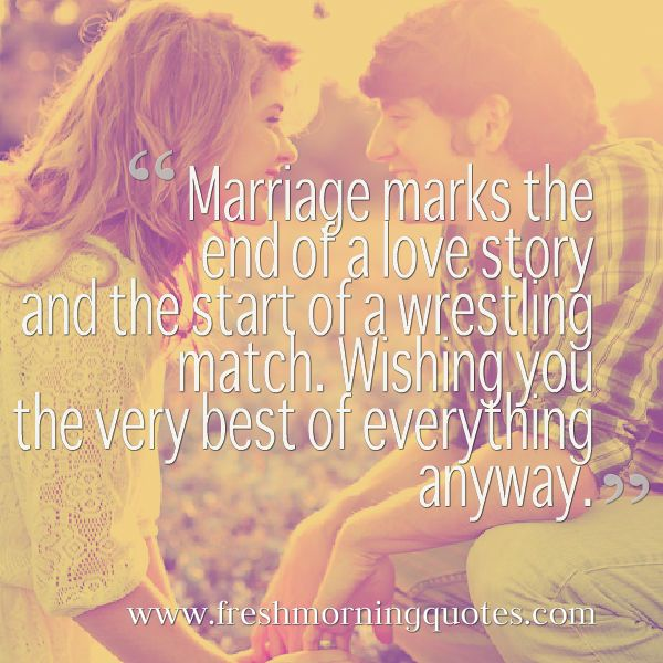 Funny Marriage Quotes And Wedding Sayings