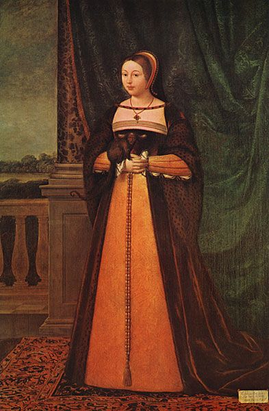 Margaret Tudor, Queen of Scotland and sister of Henry VIII
