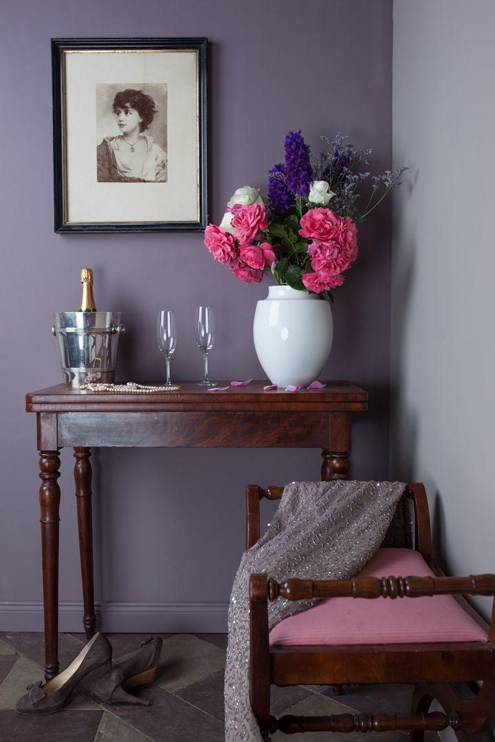hier wurden zwei lila t ne aus meiner kollektion kombiniert diese mischung kann auch t lila. Black Bedroom Furniture Sets. Home Design Ideas