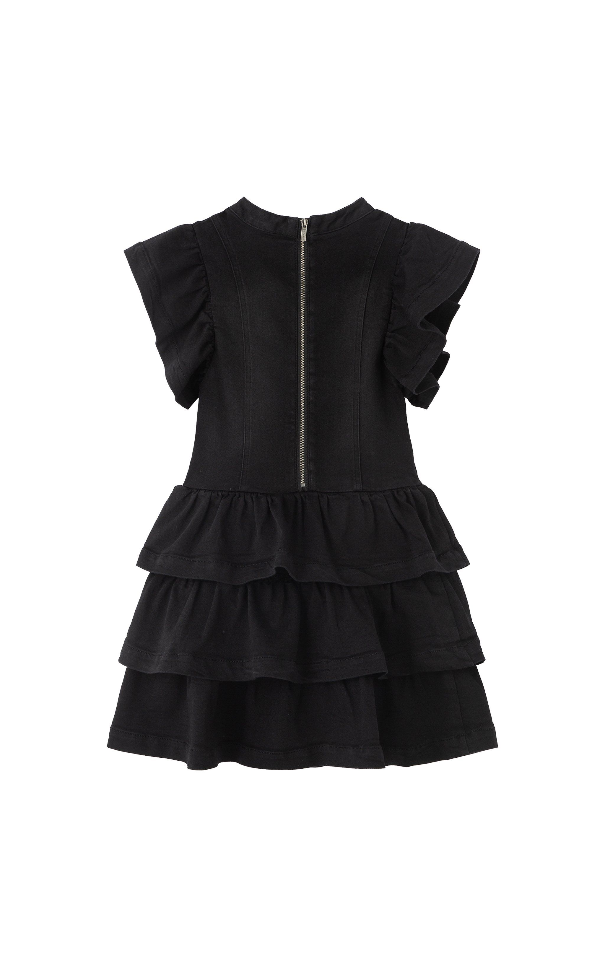 Paeton Tiered Ruffle Denim Dress 7 16 Habitual Denim Ruffle Dress Denim Dress Tiered Ruffle Dress [ 3277 x 2048 Pixel ]