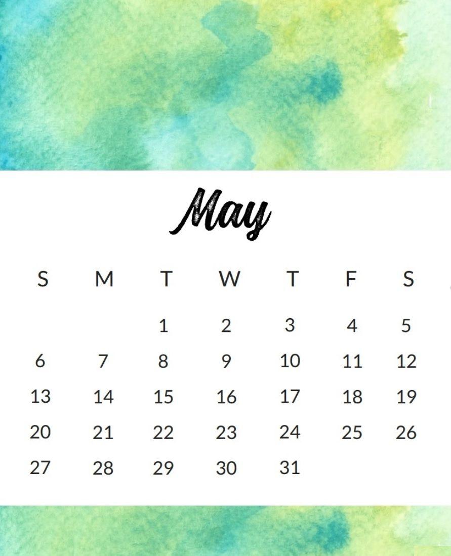 Calendar May 2018 Tumblr : Free may calendar wallpaper calendar