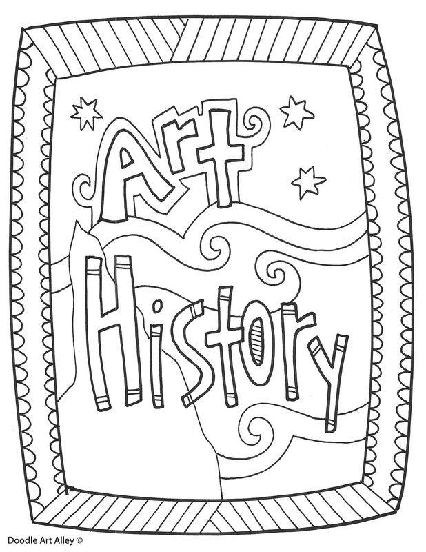 Homework Folder Cover Sheet Sketch Coloring Page