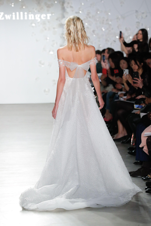 Eslieb High end Custom made A Line 3d Flower lace Wedding
