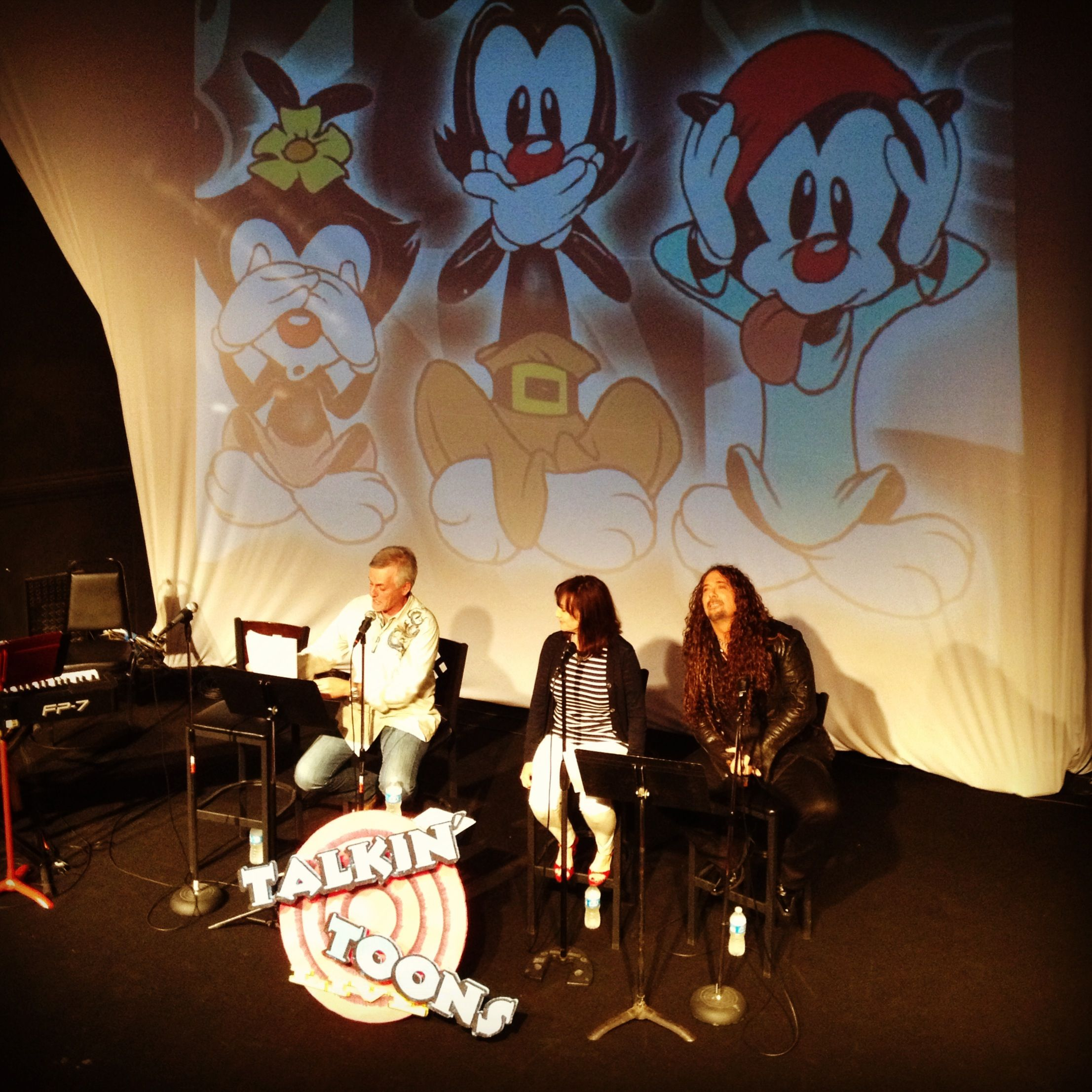 Animaniacs Reunion! Rob Paulsen, Jess Harnell, and Tress