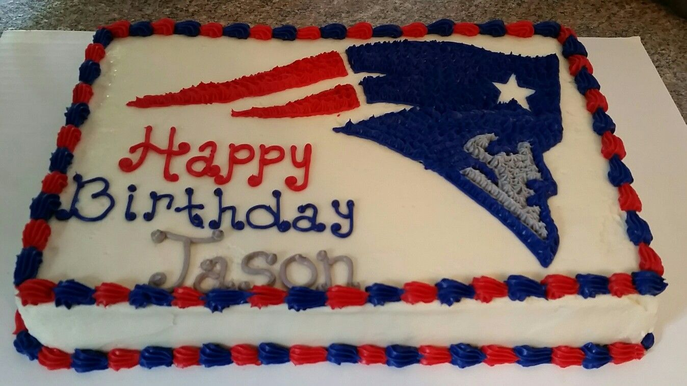 New England Patriots Cake Patriotic Cake Dessert Decoration Themed Cakes
