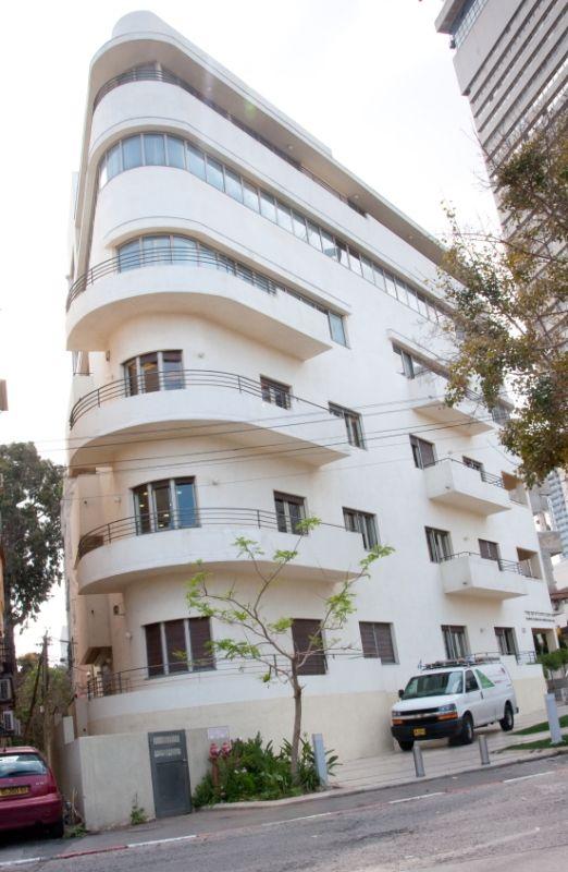 """Tel Aviv is nicknamed the """"White City"""" for its 4,000"""