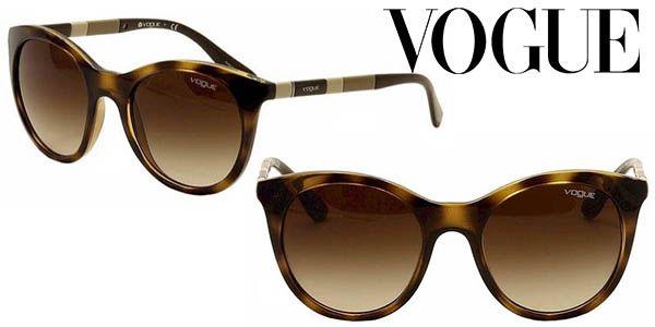eb2fdb5372b5b Gafas de sol Vogue estilo retro con lentes degradadas por sólo 69 ...