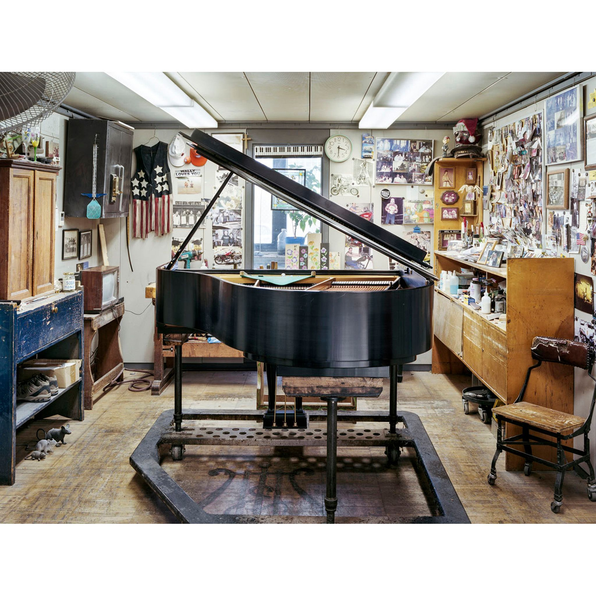 Christopher Payne S Photographs Of The Steinway Piano Factory In Astoria Ny Were Featured In Maize Magazine An Italian In 2020 Steinway Piano Architecture Photography