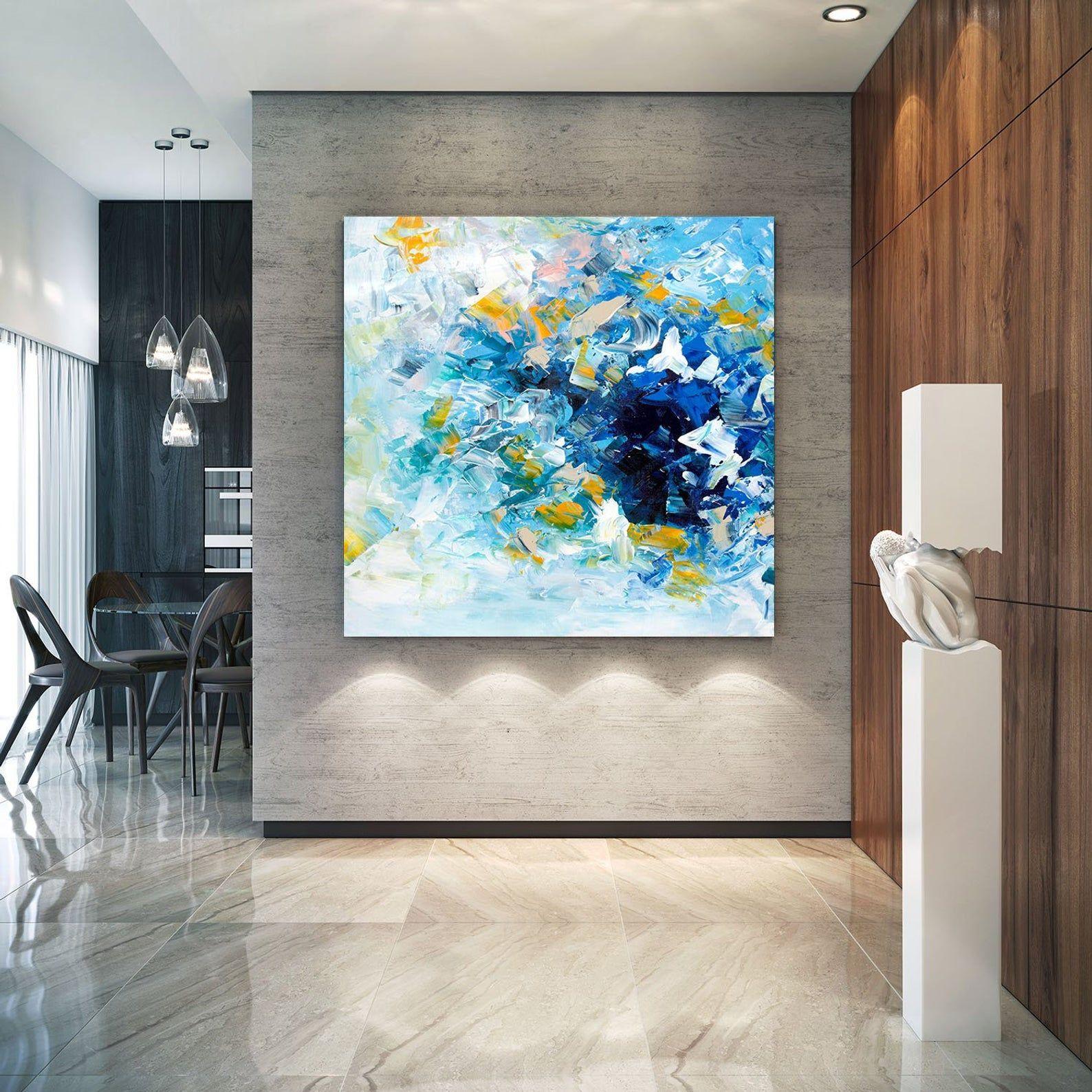 Large Abstract Painting Original Canvas Art Contemporary Etsy Original Canvas Art Canvas Painting Modern Artwork