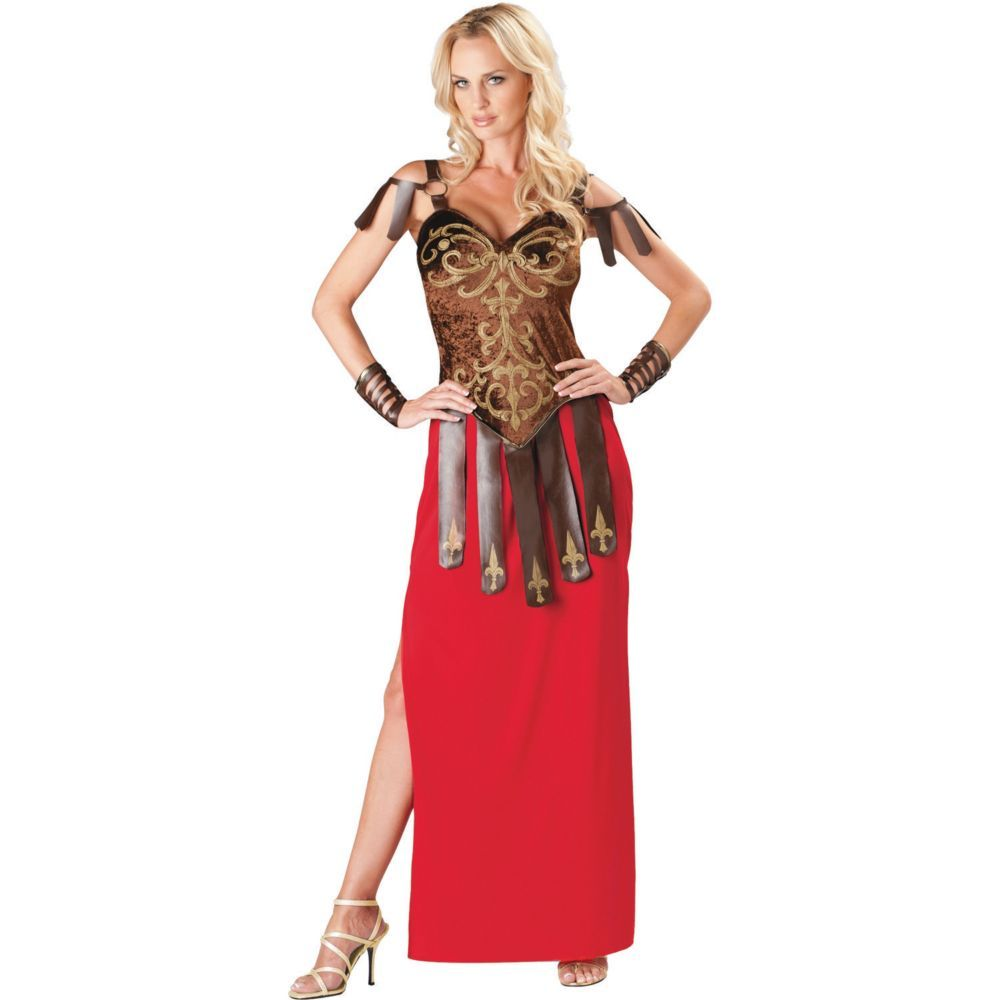 Gorgeous Gladiator Halloween Costume for Women - Extra Large ...