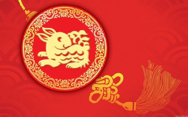 rabbit chinese new year 2014 wallpaper