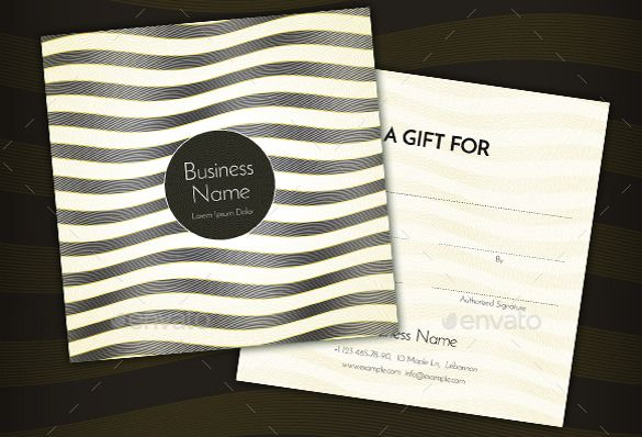 14 Restaurant Gift Certificate Templates Free Sample Example