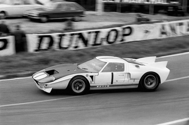 John Miles In Ford Gt40 At Le Mans 1965 Dnf Ford Gt Ford Racing Sports Car Racing