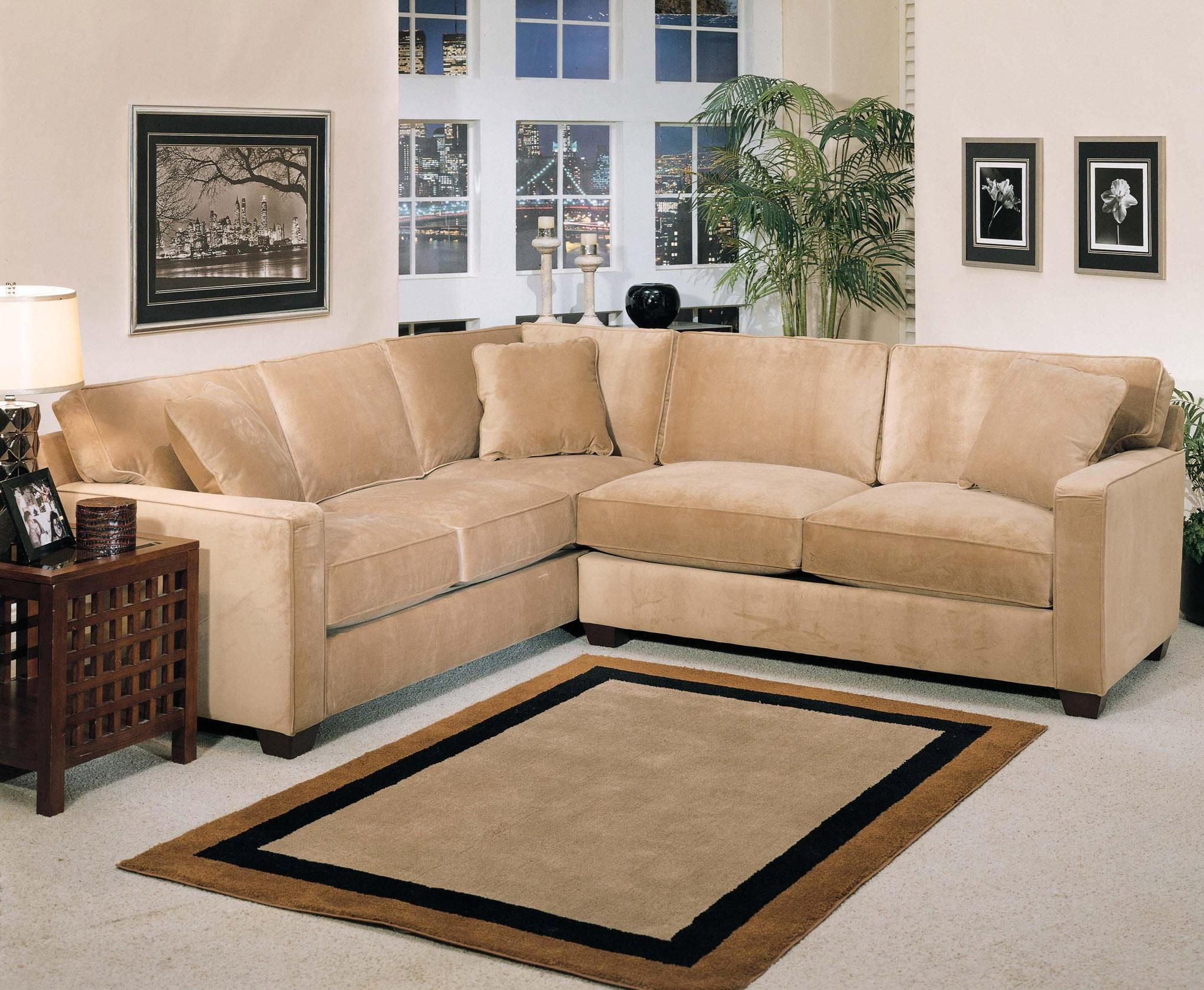 bradford 2 piece stationary sectional by jonathan louis couches