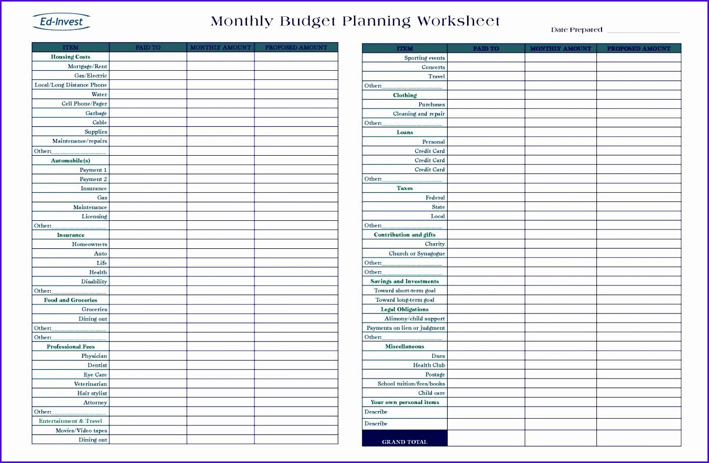 40 Business Plan Template Excel