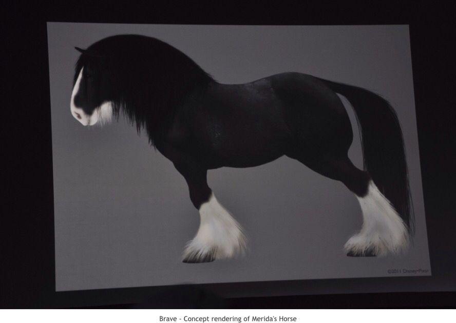 Merida's horse - Angus