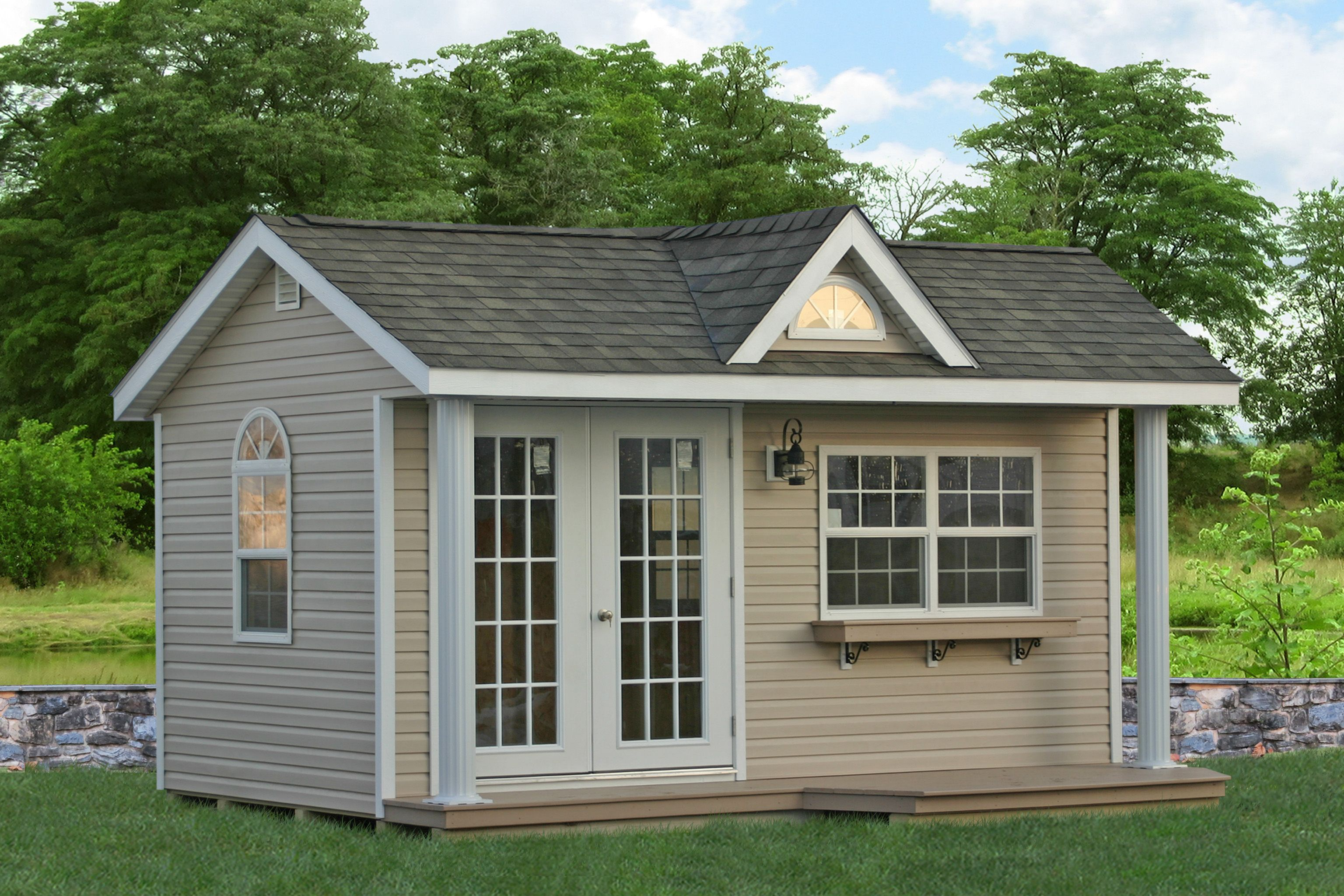 Backyard Home Office Shed For Sale in PA, NJ, NY, DE, MD