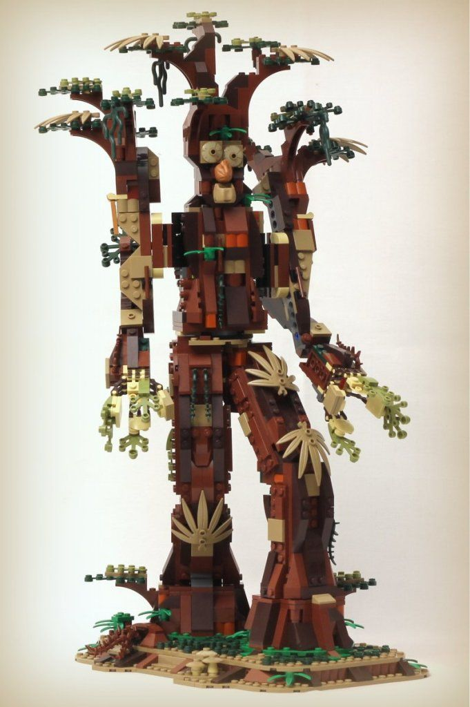 Build Your Own Lego Ent This Model Was Built Using Only The Pieces