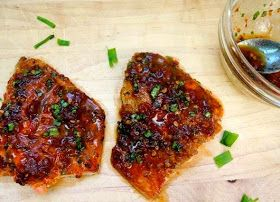 Blackened Salmon with Chipotle-Honey Glaze