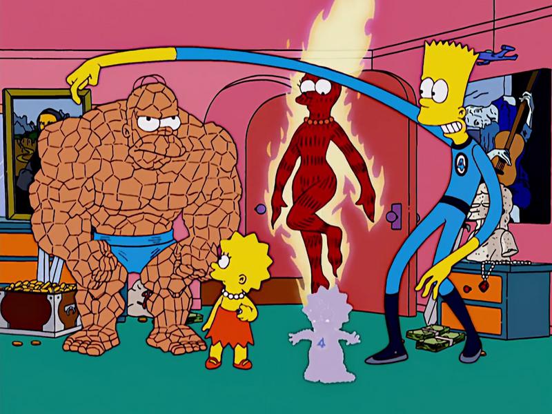 FileFantasic Four Simpsons.png Personajes de los