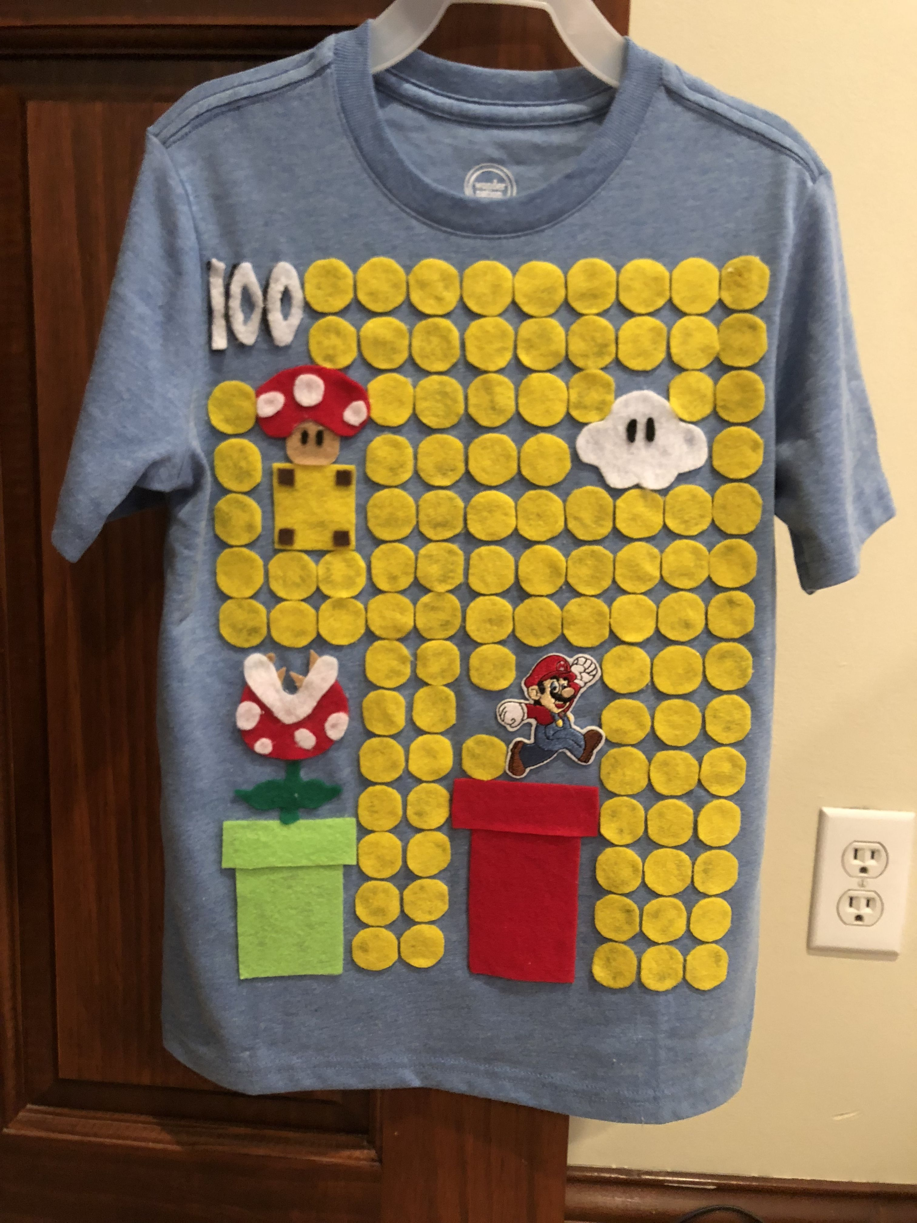 100th Day Of School Mario With Images 100th Day Of School